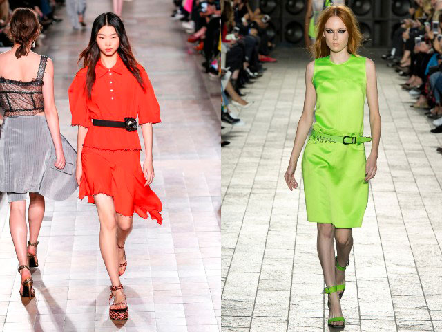 culori aprinse la moda