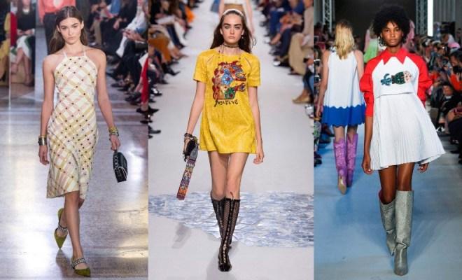 Rochii de zi la moda primavara-vara 2018
