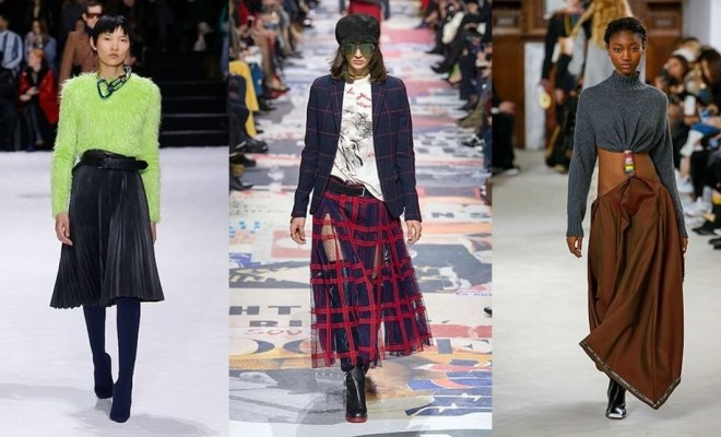 Fuste la moda toamna-iarna 2018-2019