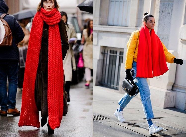 Fular mare la moda iarna 2019