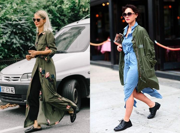 Moda strazii toamna iarna 2018 2019: stil military