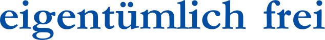 Logo eigentümlich frei