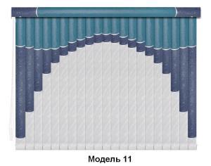 Модель 11 мультифактурные вертикальные жалюзи