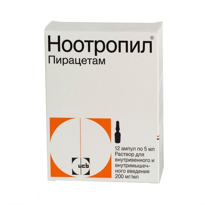 nootropinė ir hipertenzija