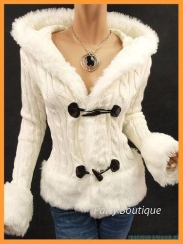 стильная куртка спицами