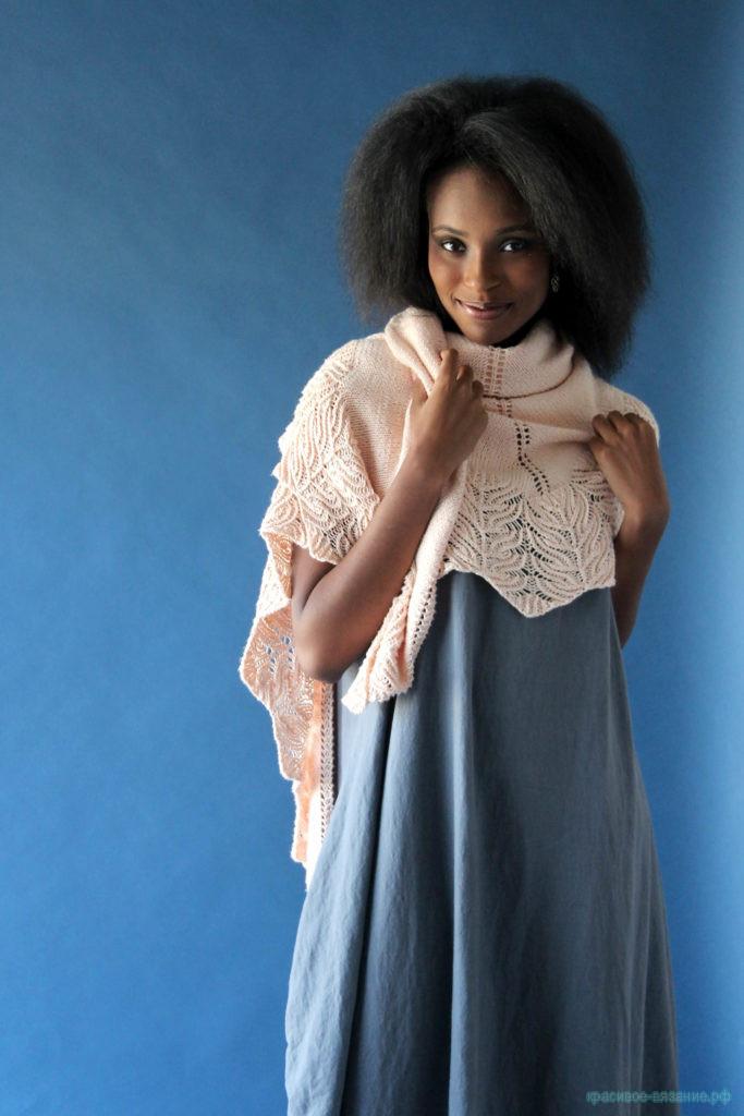Красивая Шаль Tamara от Rachel Brockman