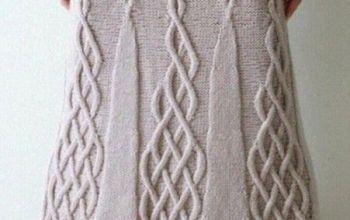 Вяжем юбку спицами