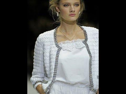 Жакет крючком в стиле Dolce & Gabbana