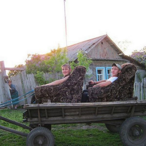 Хорошо в деревне летом! (21 фото)