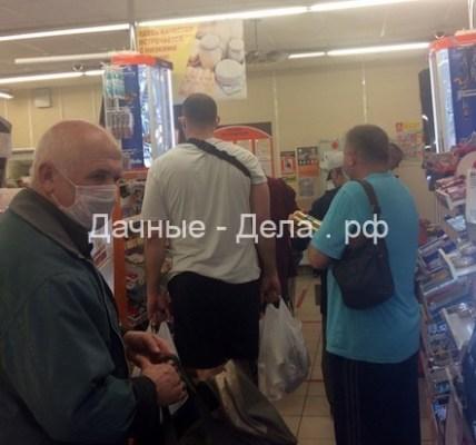 Московские дачники устроили беспредел на майские 5