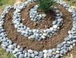 Клумбы для цветов из камней – солидно и долговечно 13
