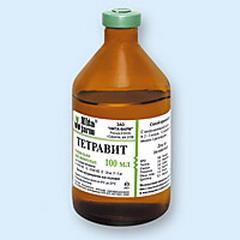 Витамины тетравит для поросят дозировка