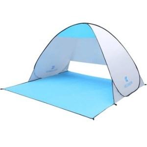Автоматическая пляжная палатка от солнца KEUMER