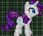 Bản vẽ trên các tế bào Pony