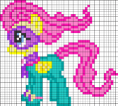 drawings on pony cells