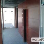 Шпон макора на стеновых панелях