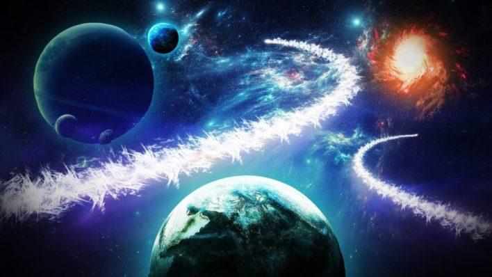 раскраска планет