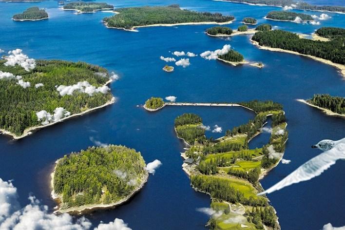 озера Финляндия