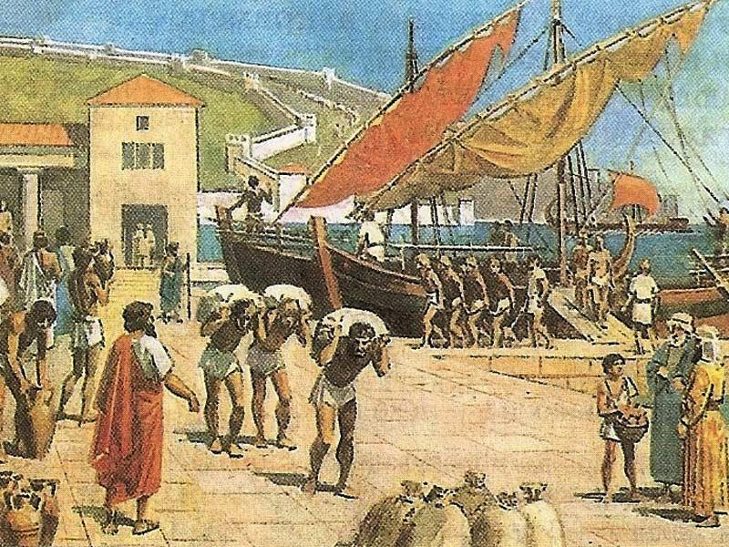 рабство в древней Греции
