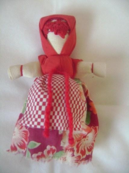 кукла пасхальная на яйце