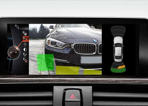 камера заднего вида BMW