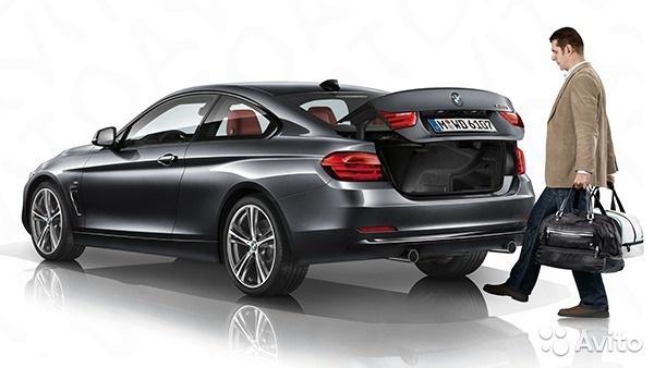 Комфортный доступ в багажник BMW