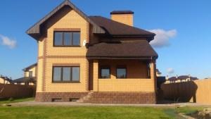 Кирпичній дом под ключ. Строительство кипричных домов