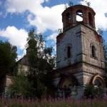 Колокольня при Вознесенской церкви в селе Тушебино