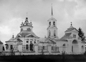 Богоотцовская церковь в Туровском. Фото начала ХХ века