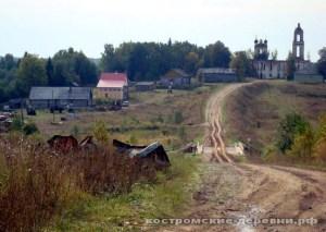 Село Муравьище Галичского района Костромской области.