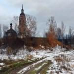 Воскресенская церковь села Унжа