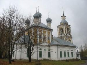Никольская церковь в Кадые