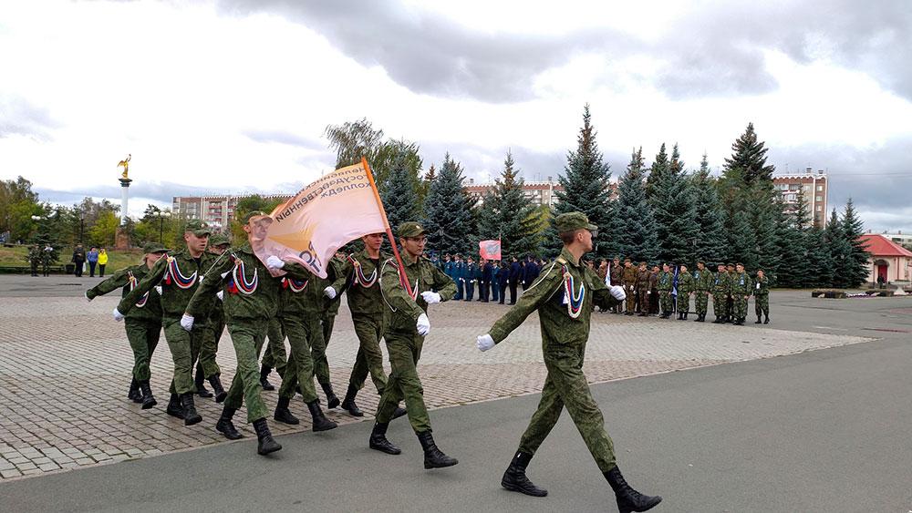 Военно-спортивая игра «Уральская зарница 2021»