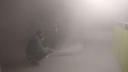 Сухой туман от запахов. Обработка сухим туманом в Москве.