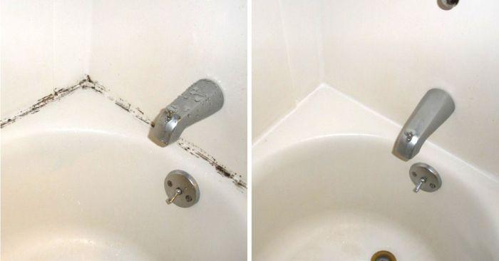 Плесень между плитками в ванной, что делать