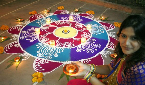 Indian Rangoli Pictures
