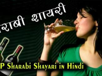 sad sharabi shayari in hindi