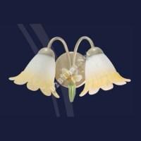 โคมไฟผนังวินเทจ ดอกไม้