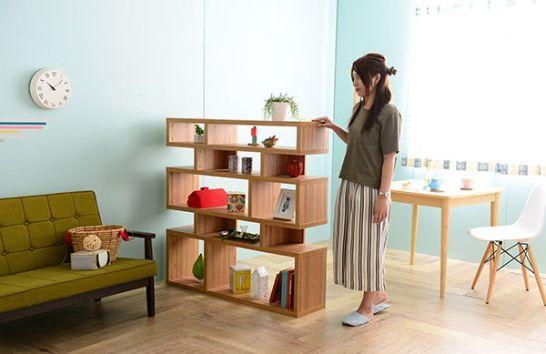二人暮らしの本棚、間仕切りとして使える棚のおすすめ