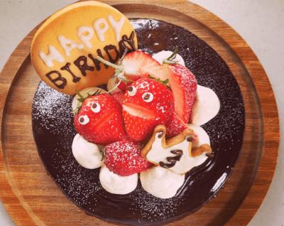 誕生 日 プレート 名古屋 鉄板料理 久坊