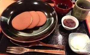 日式鬆餅 – 松崎煎餅 お茶席(東京・銀座)
