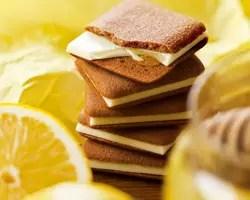 東京しょこらサンド はちみつレモン 蜂蜜檸檬夾心小薄餅