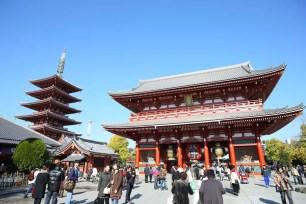 東京旅遊景點-淺草寺