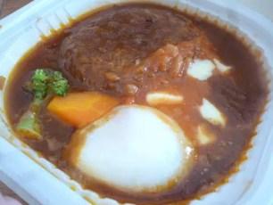 7-11 牛肉燴醬漢堡肉丼(デミトマチーズ!ロコモコ丼)