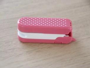 明明是釘書機卻可以一台三用!「釘合打洞割~開」
