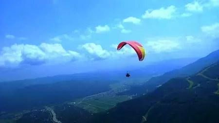 在日本的二三事 -高空之旅,挑戰飛行傘 (1)