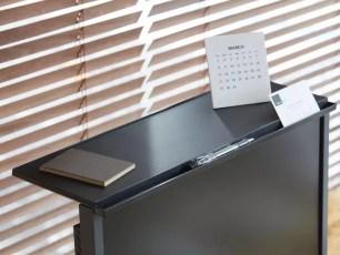 KING JIM 有效活用死角的「液晶螢幕板」