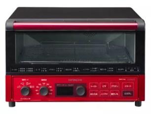 日立 按一下鈕就能夠去油或做披薩的對流式電烤箱