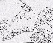 於日本掀起大旋風的鳥獸戲畫扭蛋☆