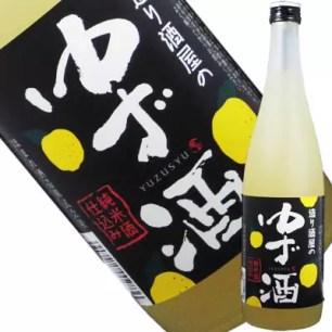 日本清酒介紹⑨:柚子酒(YUZU-SHU)